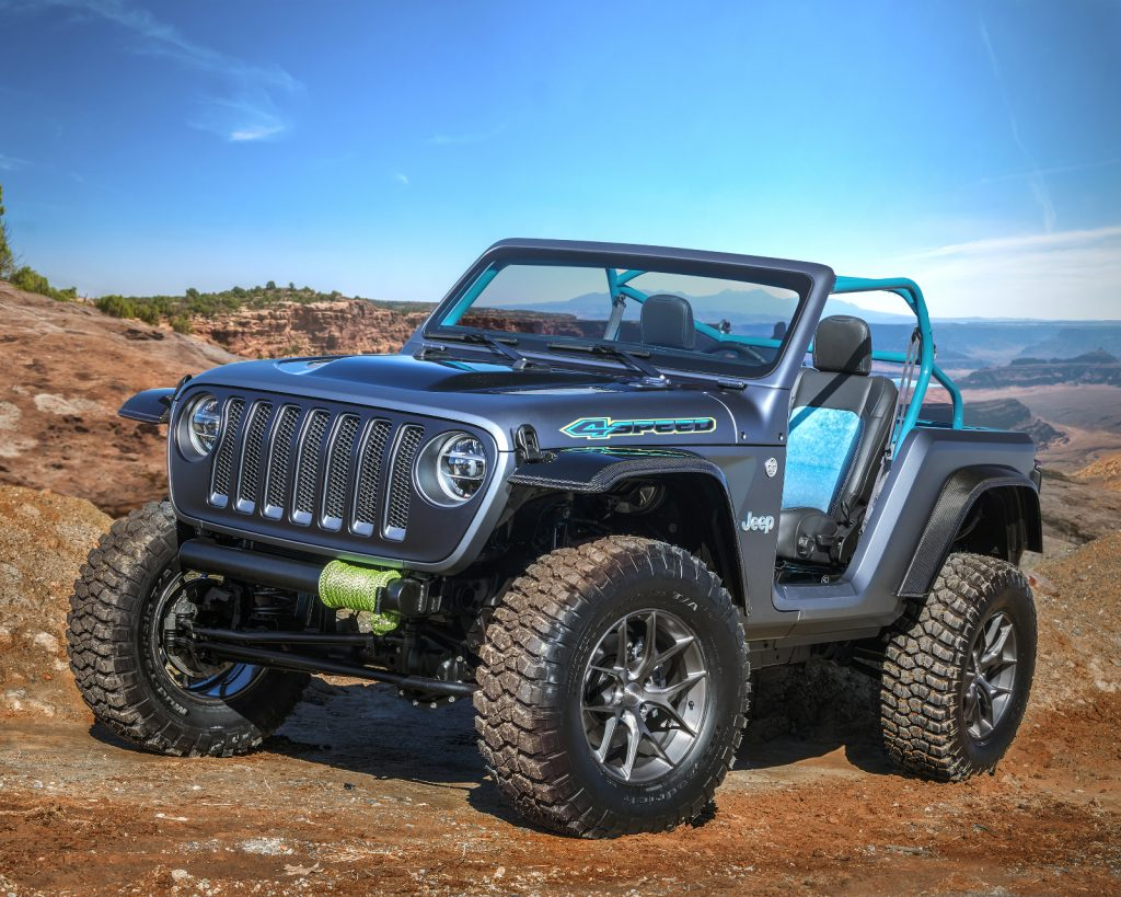Jeep Moab Easter Safarai 2018 - Jeep-Konzeptfahrzeug Jeep 4SPEED