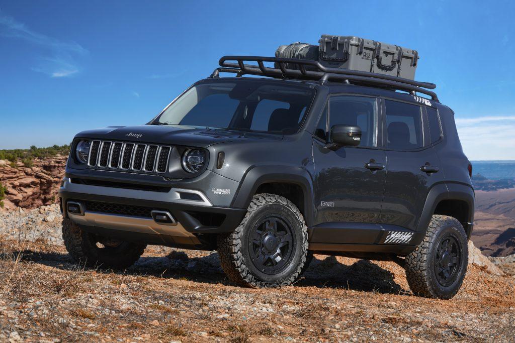 Jeep Moab Easter Safarai 2018 - Jeep-Konzeptfahrzeug Jeep B-Ute