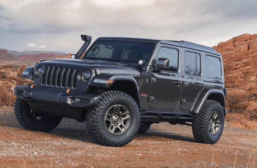 Jeep Moab Easter Safarai 2018 - Jeep-Konzeptfahrzeug Jeep J-Wagon Konzept