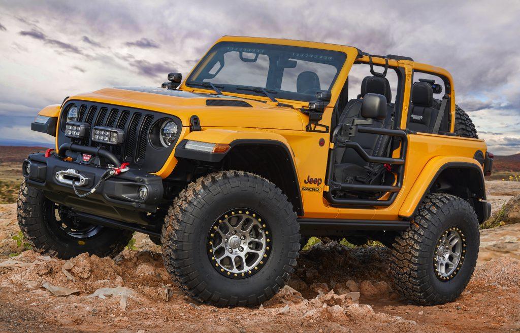 Jeep Moab Easter Safarai 2018 - Jeep-Konzeptfahrzeug Jeep Nacho Konzept