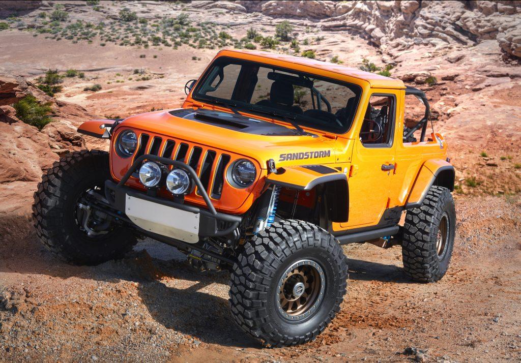 Jeep Moab Easter Safarai 2018 - Jeep-Konzeptfahrzeug Jeep Sandstorm