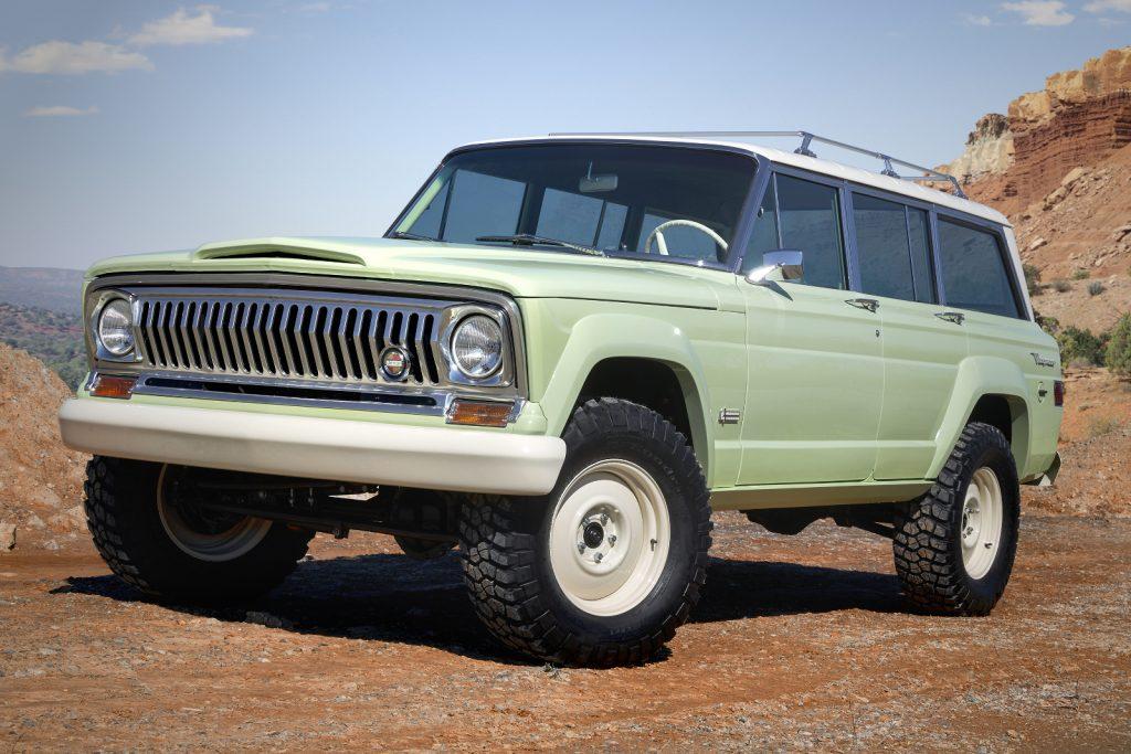 Jeep Moab Easter Safarai 2018 - Jeep-Konzeptfahrzeug Jeep Wagoneer Roadtrip