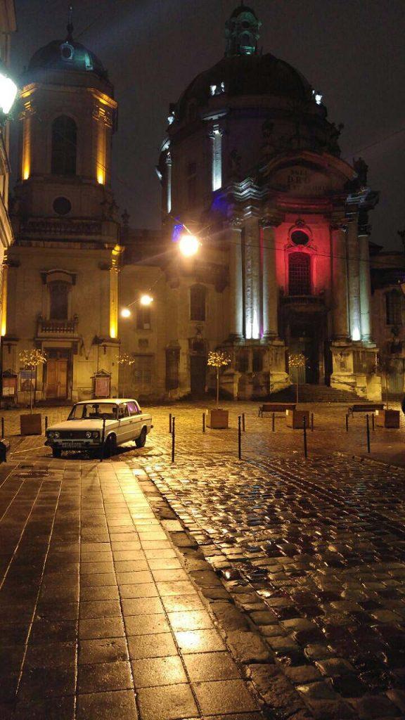 Europas wilder Osten - Lviv (Lemberg, Lwow) bei Nacht.