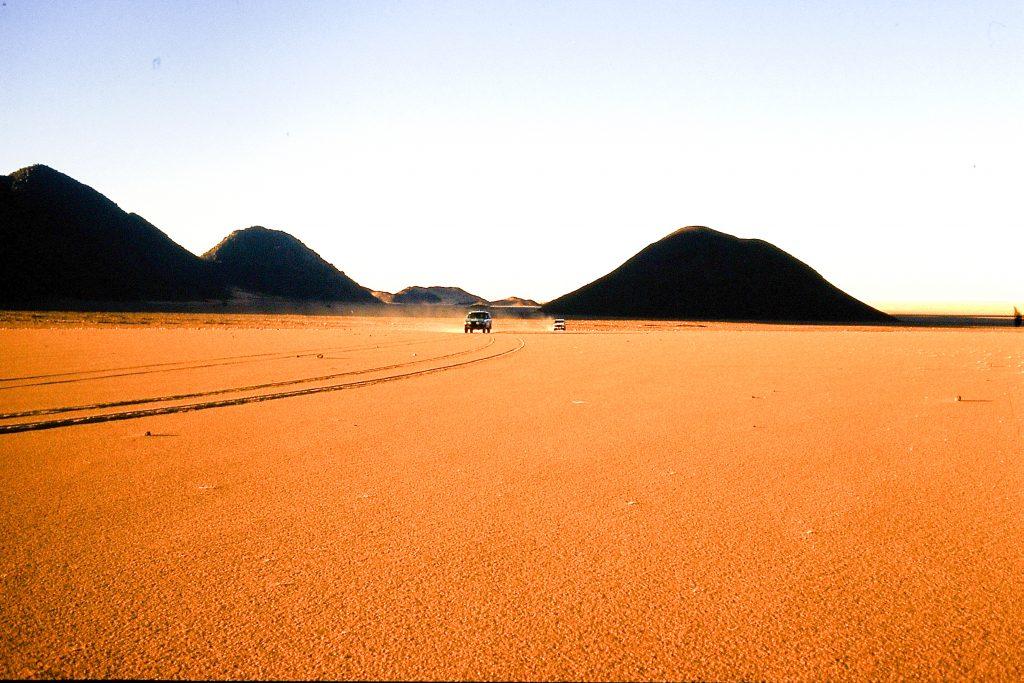 Reiseberichte - © H.C. Maurer - Östlich des Aïr-Gebirges in Mali.