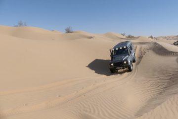 Offroadfahren im Sand