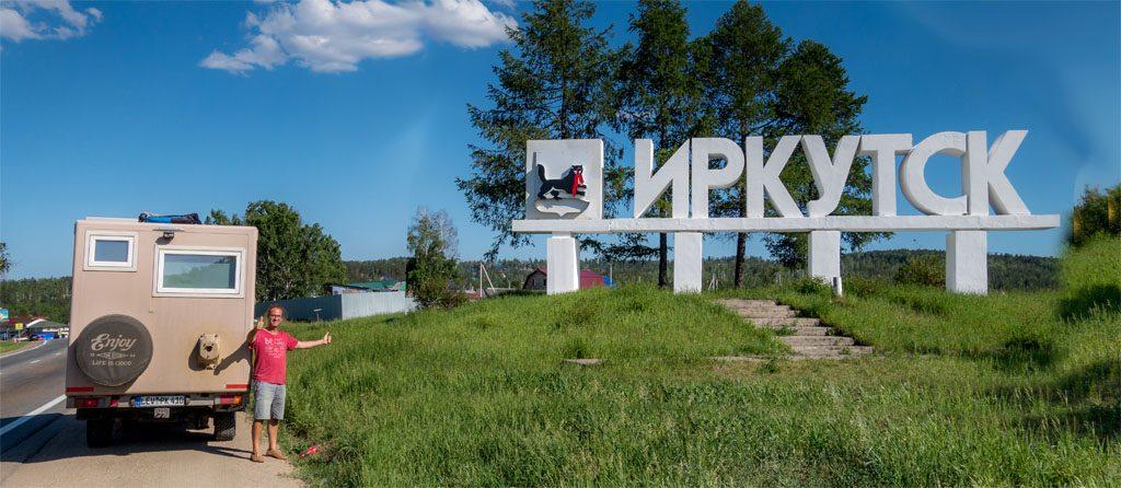 Wohnmobil-Fernweh - 6.700 Kilometern nach dem Grenzübertritt erreichen wir endlich Irkutsk – das Tor zum Baikalsee.