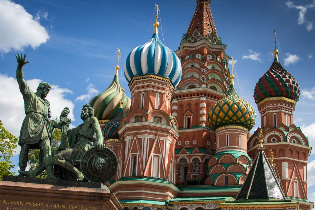 Wohnmobil-Fernweh - Basilius-Kathedrale in Moskau.