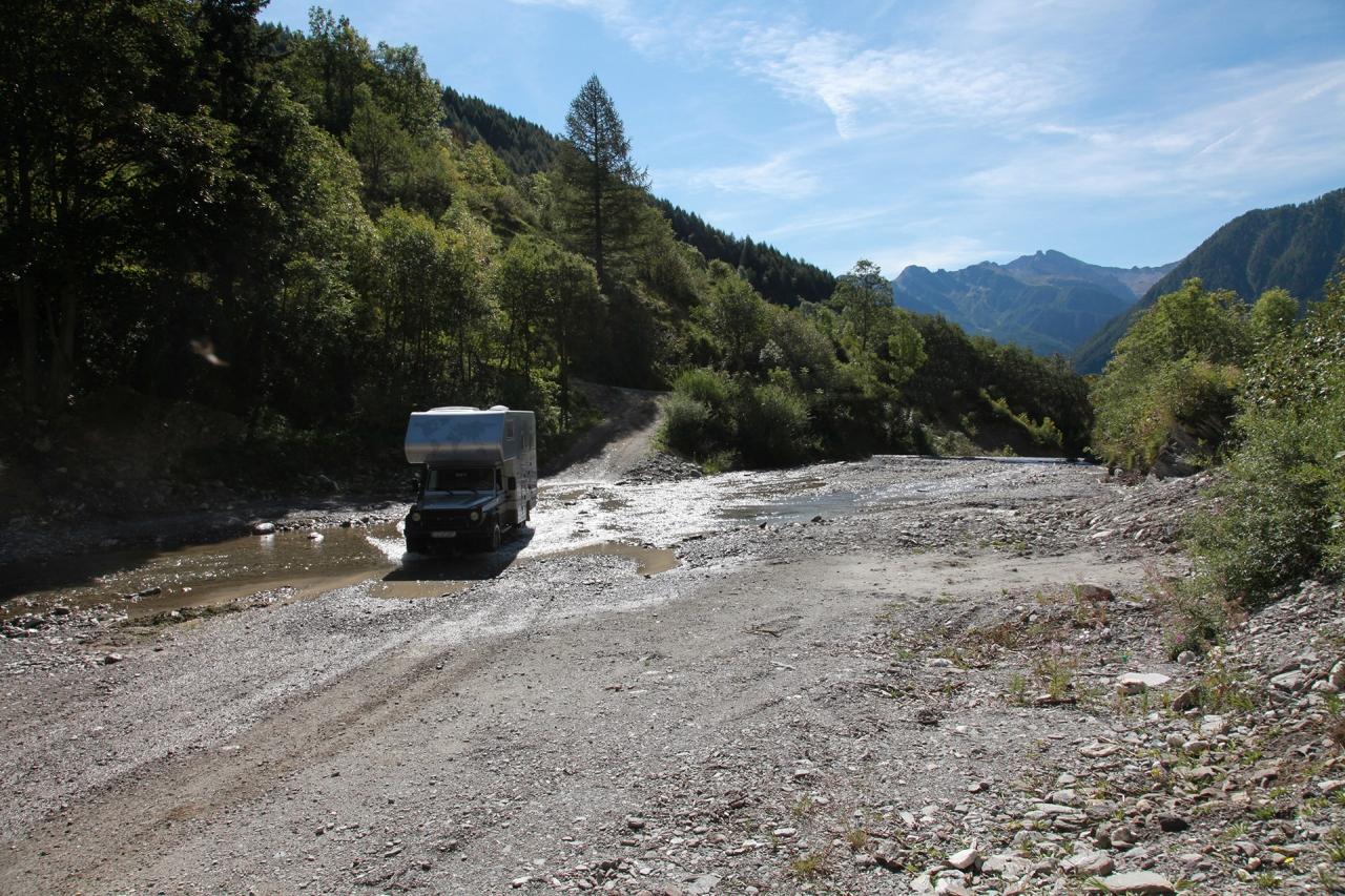 Reisen für Expeditions-LKW - Scouttour Montenegro für Offroad-LKW bis 7,5t