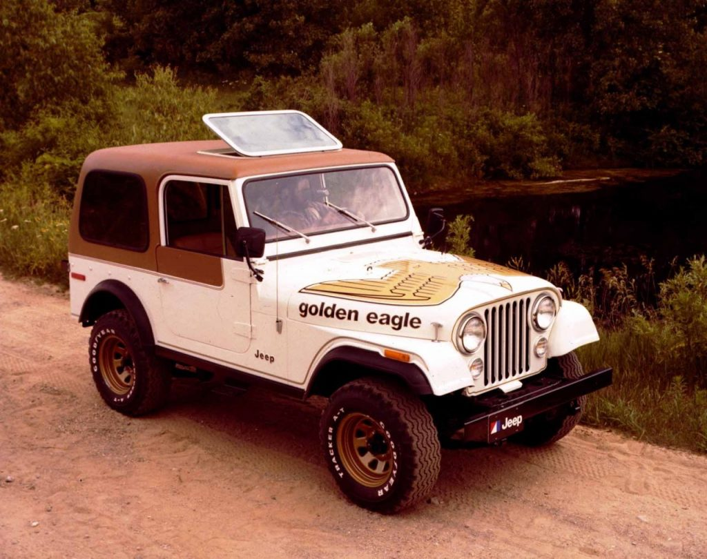 Jeep Wrangler Golden Eagle - Das Original: Jeep CJ-7 Golden Eagle von 1976.