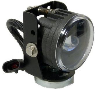 Nolden 70 mm IR-Scheinwerfer mit Magnetfuß.