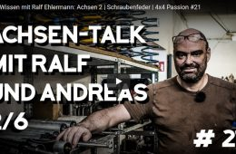 Offroad-Wissen mit Ralf Ehlermann: Achsen 2 - Schraubenfeder - 4x4 Passion #21