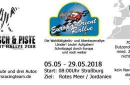 Europa-Orient-Rallye mit Team 51 Matsch&Piste
