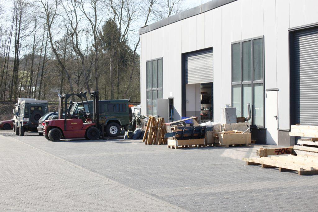 re-Suspension in neuen Räumlichkeiten - Die Werkstatt.