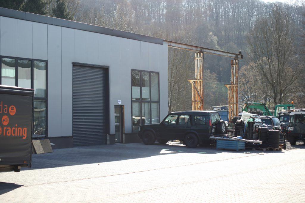 re-Suspension in neuen Räumlichkeiten - Der Konstruktionsbereich.