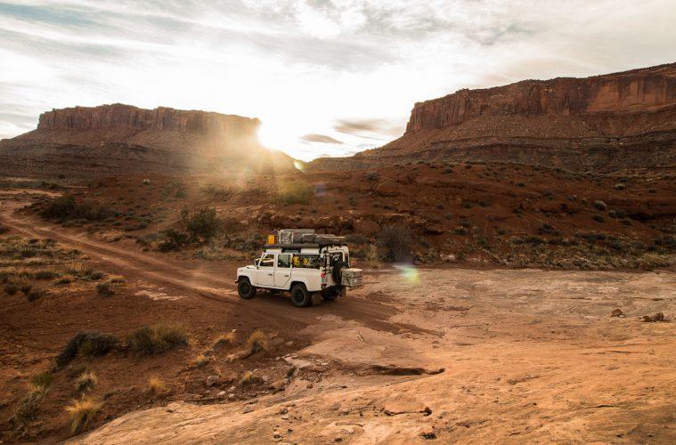 The Sunnyside - White Rim Trail - Der Weg ist voller großer und kleiner Hindernisse.