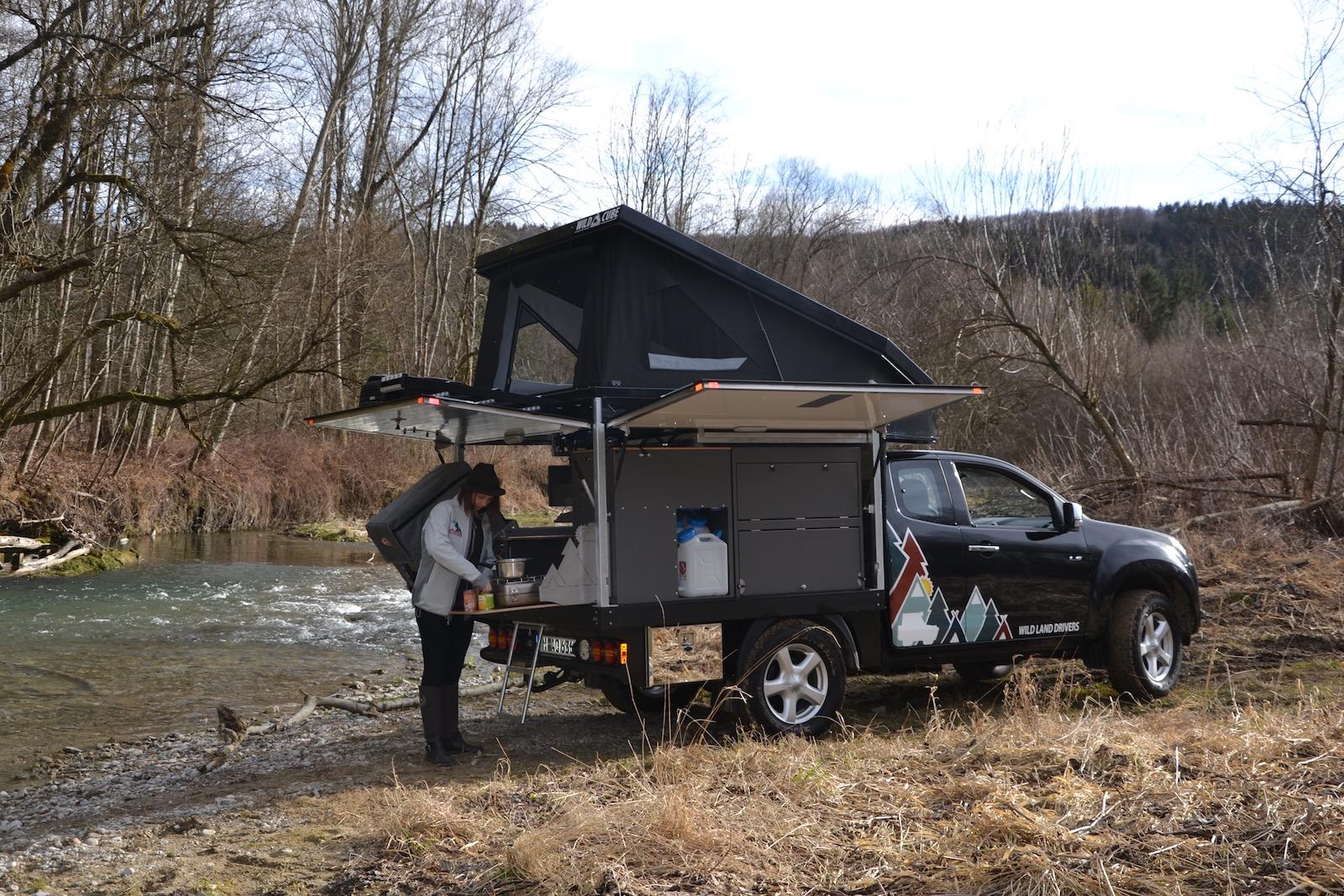 Wild Land Drivers Wild Cube Pick-up Kabine