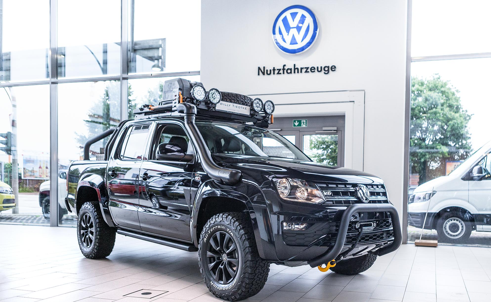 VW-Fahrzeugumbauten von WT Offroad