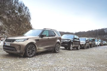 Land Rover Guinness World Record-Versuch 2018 auf der Abenteuer & Allrad. © Jaguar Land Rover