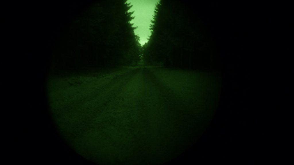 © Nolden Cars&Concepts - Nur mit Nachtsichtgerät, ohne IR-Scheinwerfer.