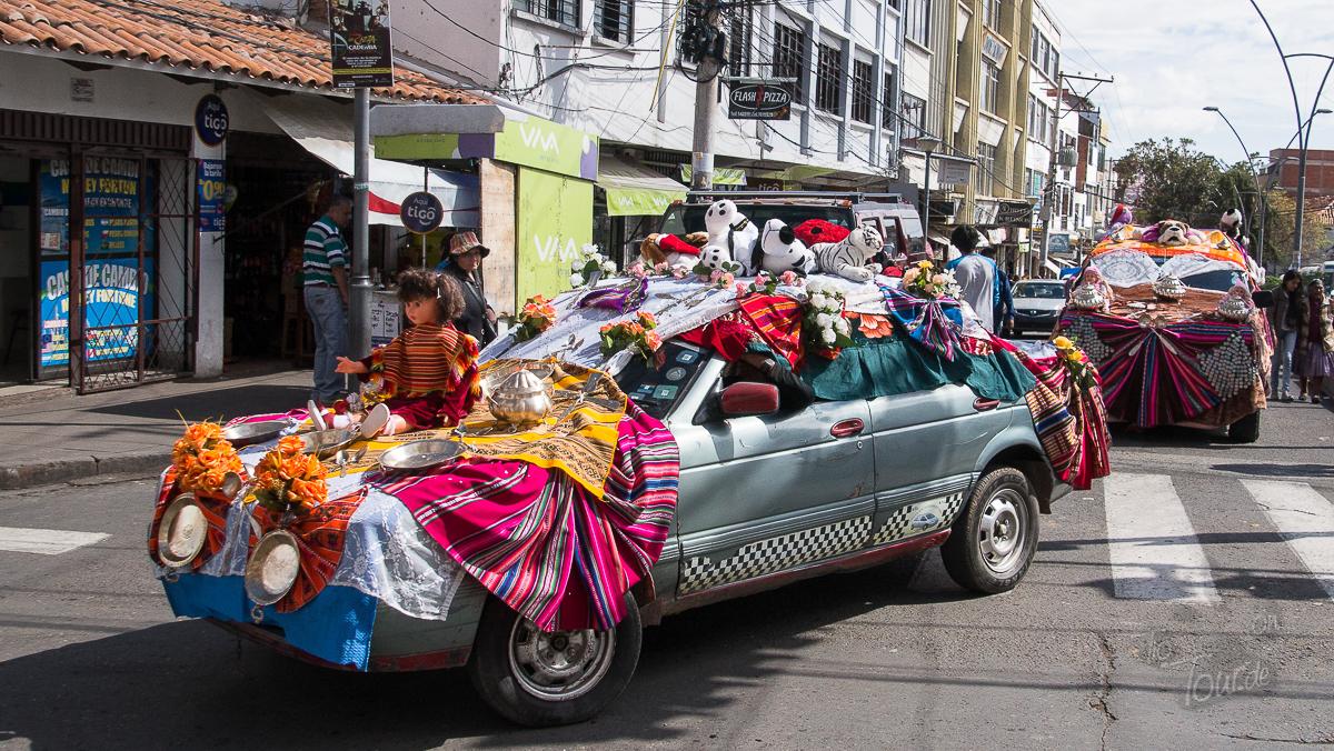 Autokorso in Sucre