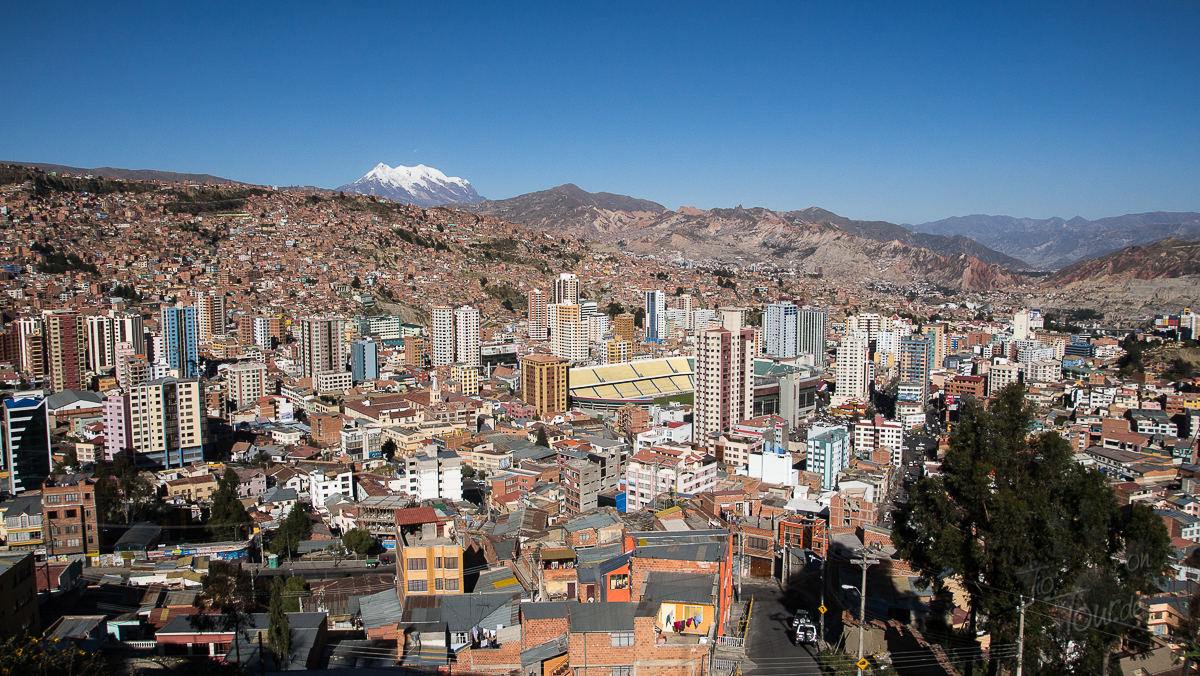 La Paz - Aussicht auf die Stadt