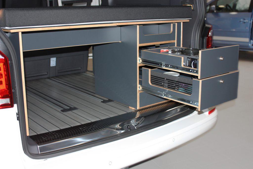 KAUAI Camper Multivan T5/T6 mobile Innenausbau