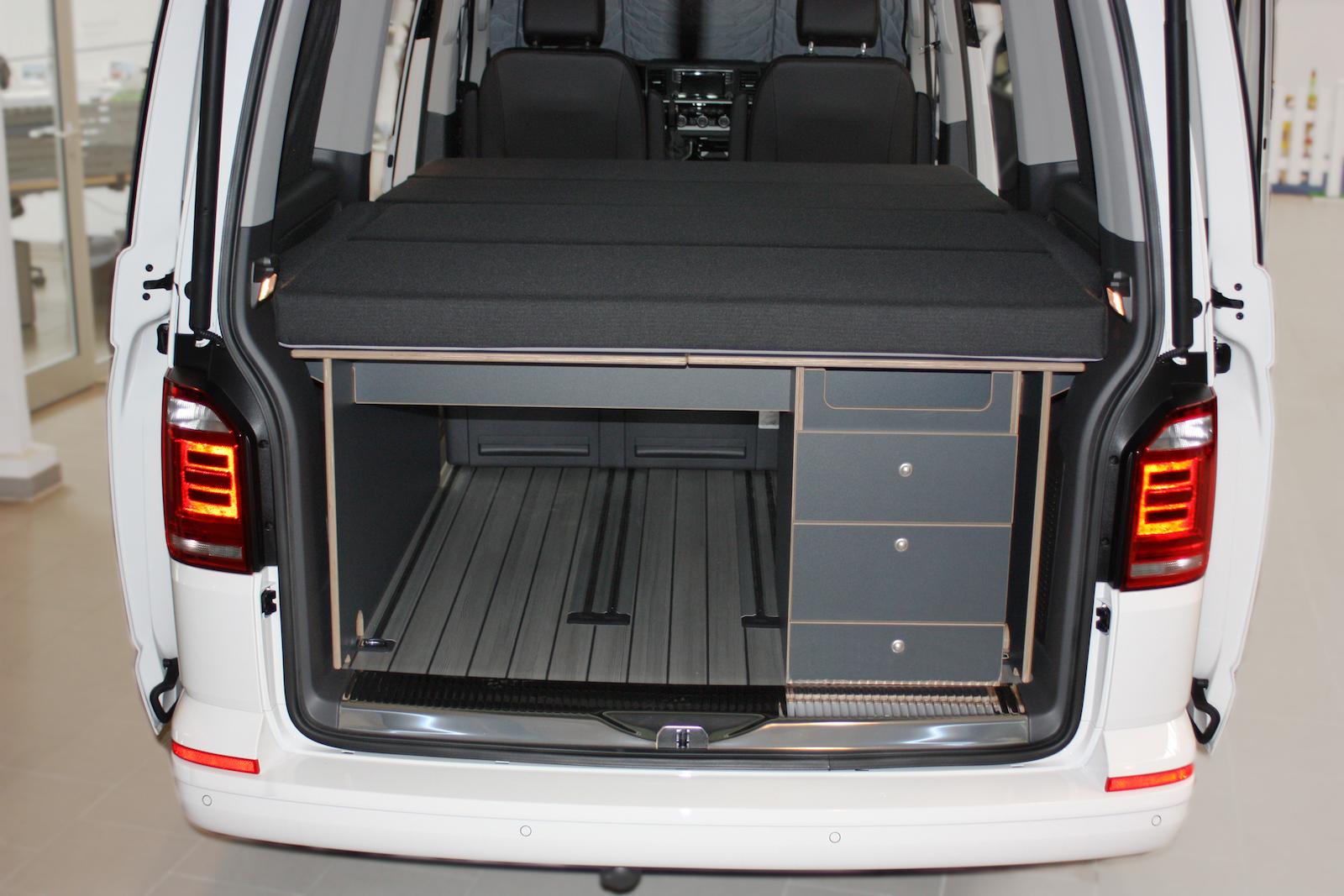 kauai camper multivan t5 t6 mobile innenausbau matsch piste. Black Bedroom Furniture Sets. Home Design Ideas