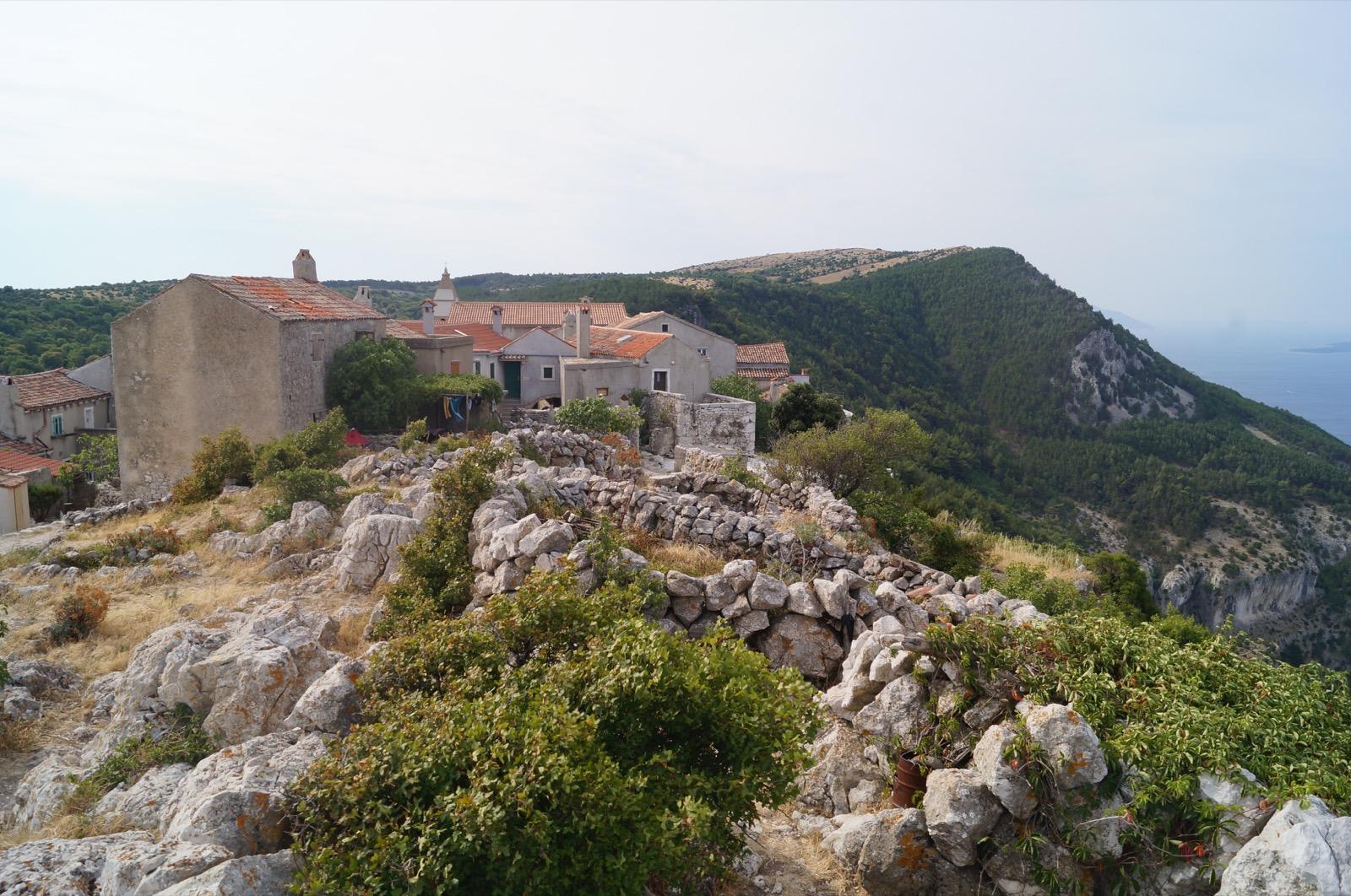 Lubenice, ein ehemaliges Piratennest in Kroatien