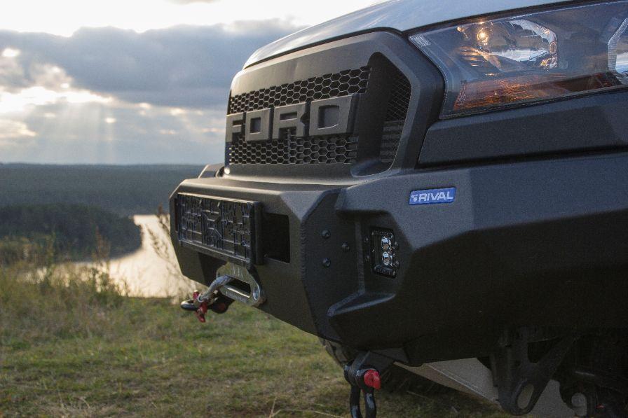 RIVAL Windenstoßstange für den Ford Ranger