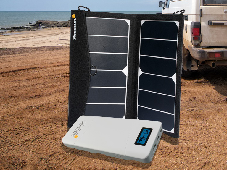 autarker.de _ Mobile Solarladestation Phaesun