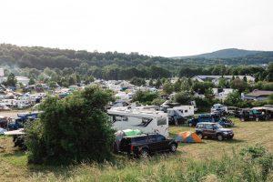 Abenteuer & Allrad 2018 - Die Mutter aller Campgrounds in Bad Kissingen hat keinen Platz mehr.