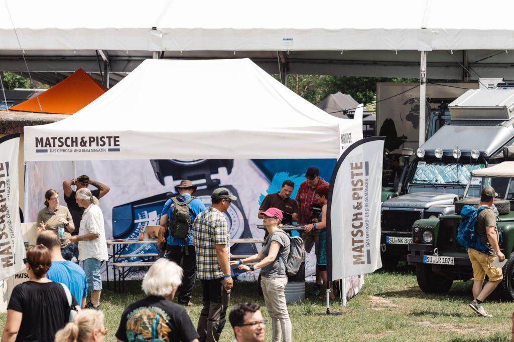 Abenteuer & Allrad 2018 - Gut besucht - unser Matsch&Piste-Stand.