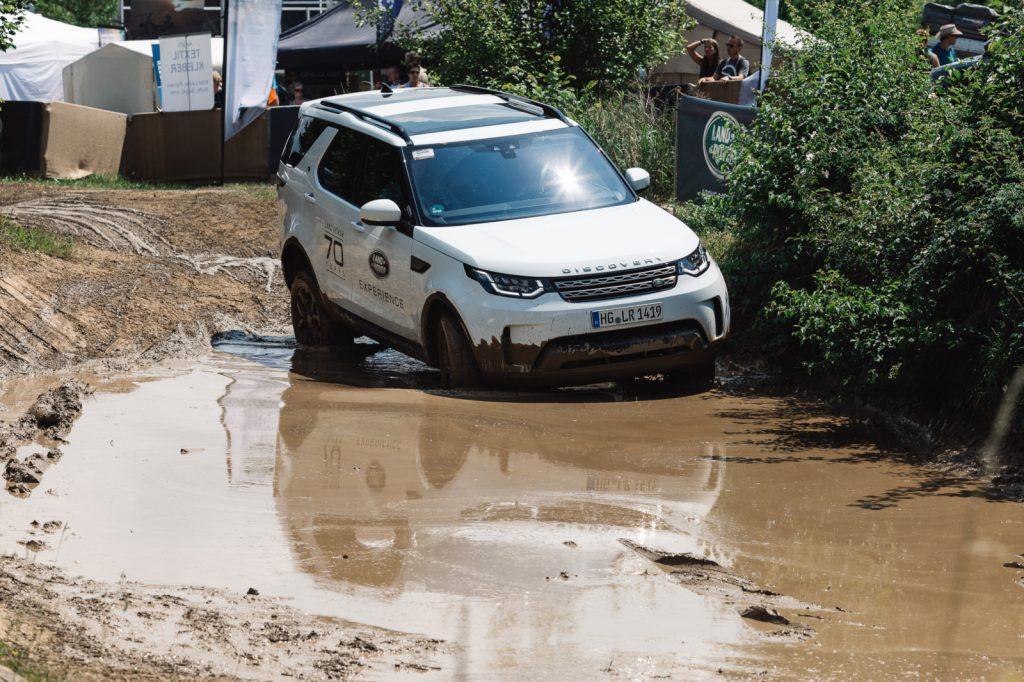 Abenteuer & Allrad 2018 - Land Rover auf der Abenteuer & Allrad - Das ewige Standardprogramm mit massentauglichen Fahrzeugen.