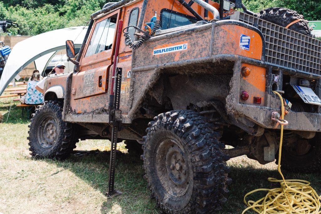 Abenteuer & Allrad 2018 - Ein Wagen nur für das Gelände - mittlerweile eine Seltenheit auf der Abenteuer & Allrad.