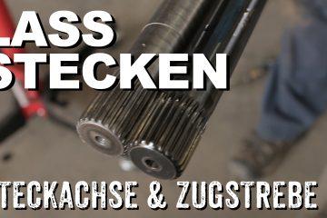 Steckachsen & Polybushes wechseln beim Land Rover Defender - 4x4 Passion #70