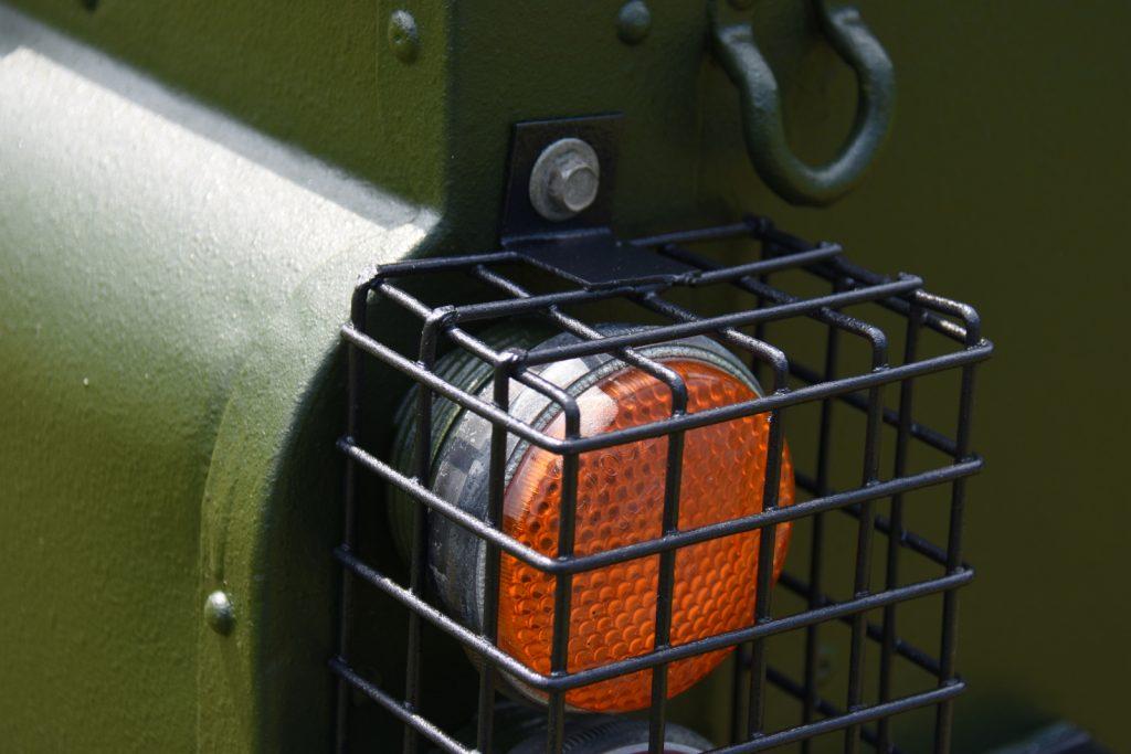 Naviton - Auch die Gitter wurden mit Naviton lackiert.