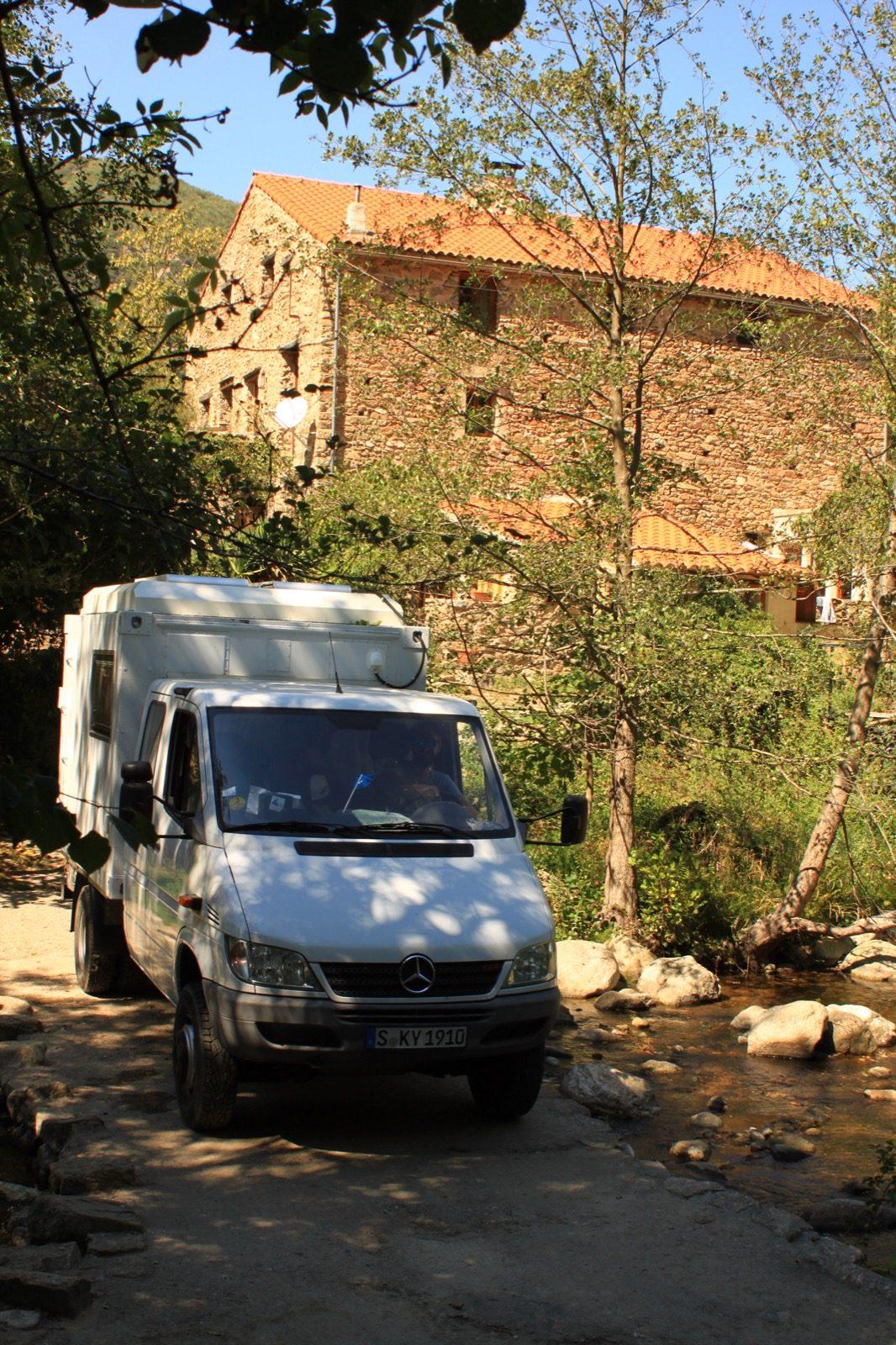 4x4-Sprinter nach Spanien und Portugal