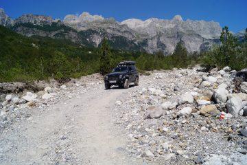Offroad in Albanien -
