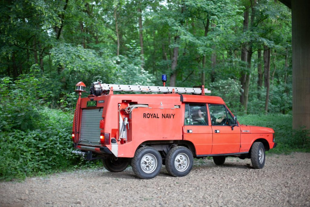 Range Rover TACR Mk2 - Spezieller Hingucker, der TACR Mk2.