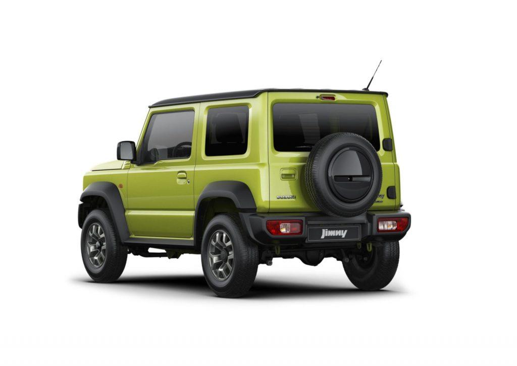 Suzuki Jimny 2018 - Kurz und Knapp, kein Schickschnack.