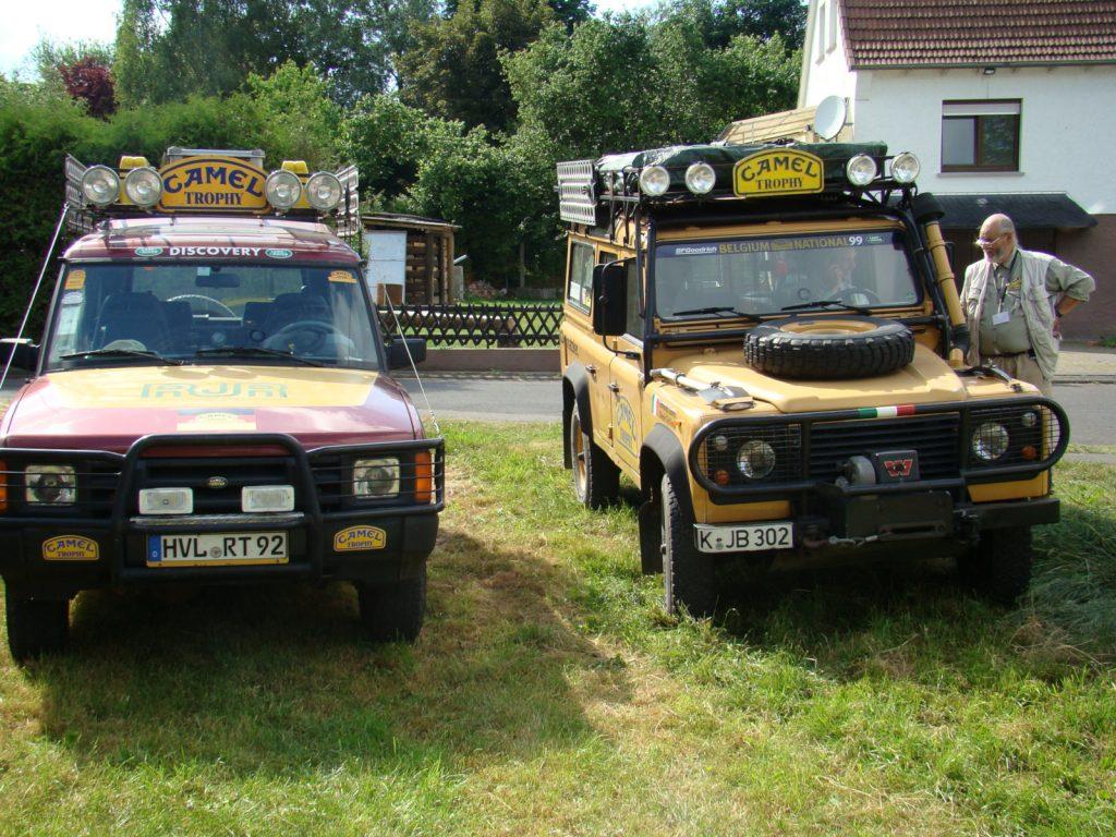 Camel Trophy History Club - Der klassische, unerreichte Land-Rover-Trophy-Look.