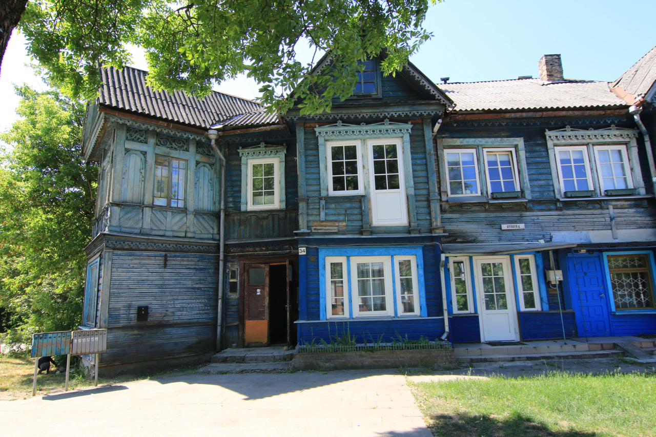 Trailpunkz.com - Klassisches Holzhaus in Litauen
