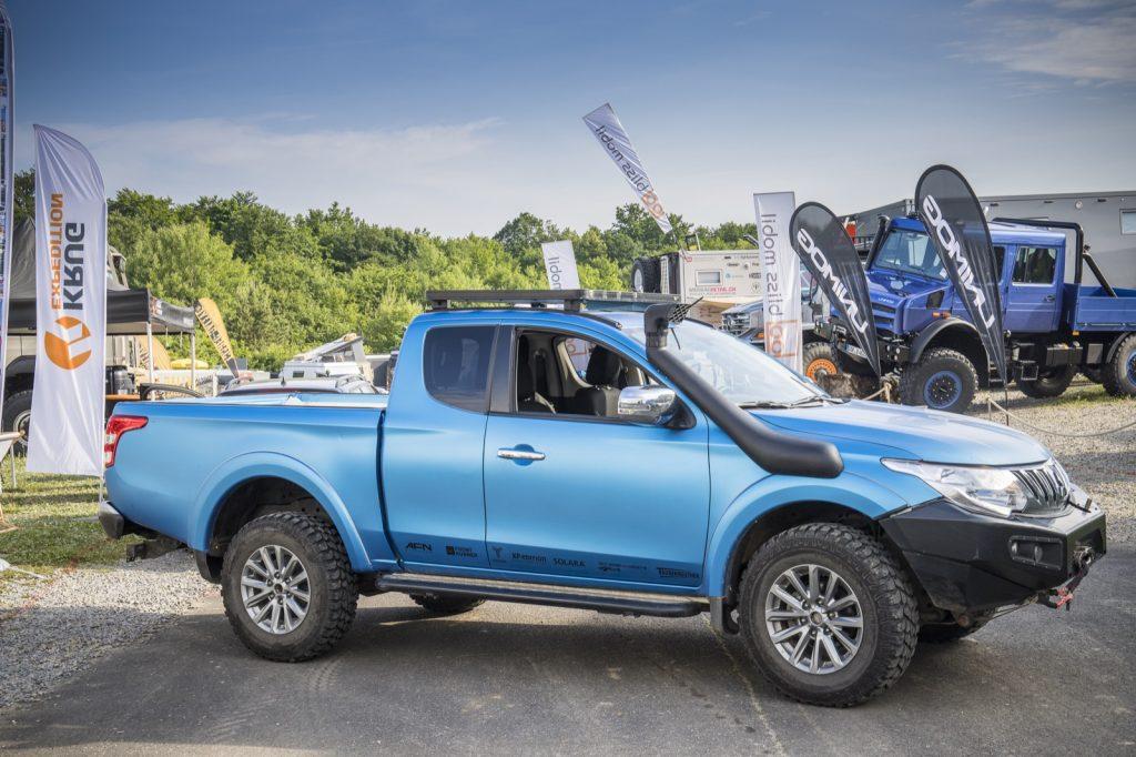 Abenteuer & Allrad Explorer Magazin Pick-up Umbau