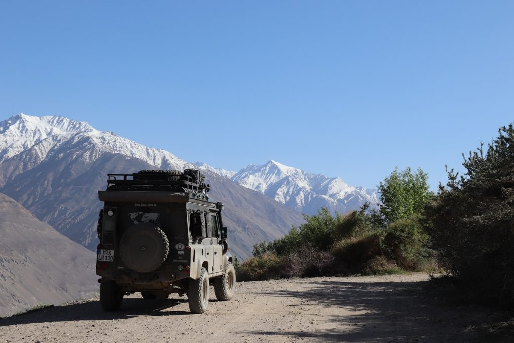 Offroad-Reise Pamir Highway - Hindukusch.