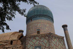 Offroad-Reise Pamir Highway - Gur-e Amir Mausoleum, die letzte Ruhestätte Timur-Lengs.
