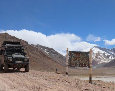 Offroad-Reise Pamir Highway - Ak-Baital-Pass.