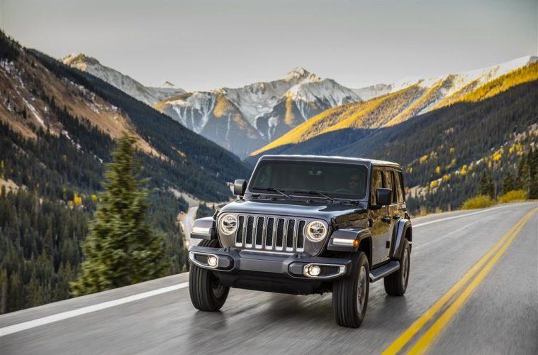 Jeep Wrangler JL Sahara.