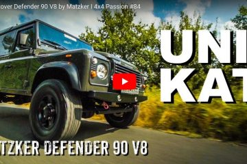 Land Rover Defender 90 V8 by Matzker - 4x4 Passion #84