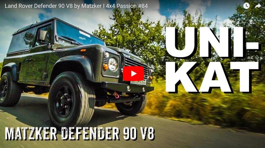 Land Rover Defender 90 V8 by Matzker - 4x4 Passion #84