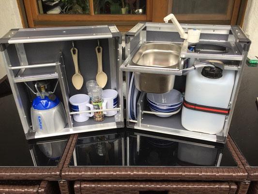 Outdoorküche Camping Ungaran : Küchenkisten auf reisen für jeden geschmack etwas matsch&piste